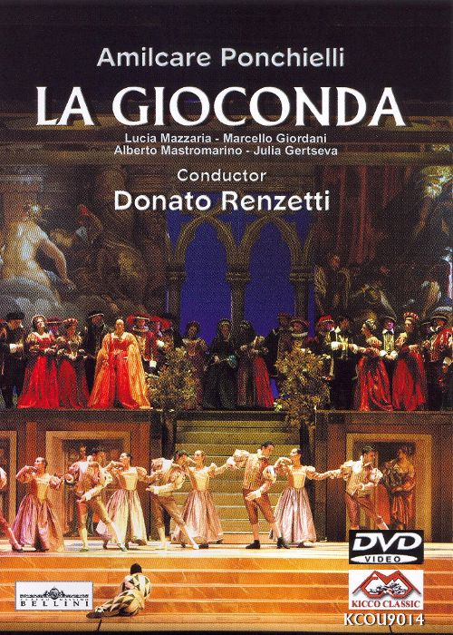A. Ponchielli: La Gioconda [DVD Video]